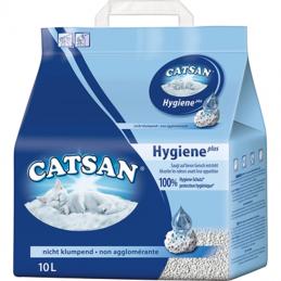 Catsan Hygiene Plus Katzenstreu - 10 l Beutel