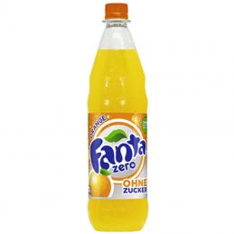 Fanta Zero - 12 x 1,00 l Flaschen