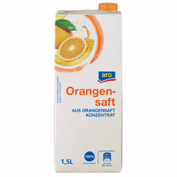 aro Orangensaft 100 %...