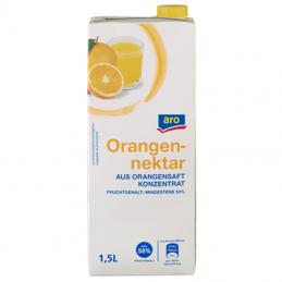 aro Orangennektar 50 %...