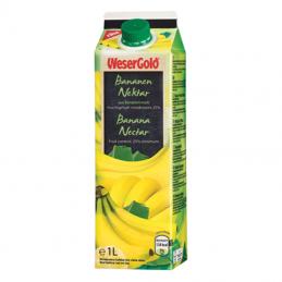 Wesergold Bananennektar...