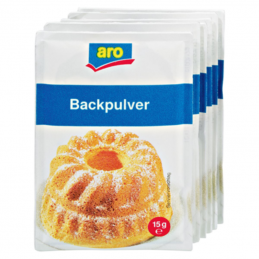 Aro Backpulver 6x15g