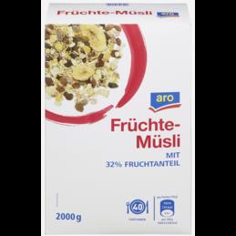 Aro Früchte Müsli 2kg