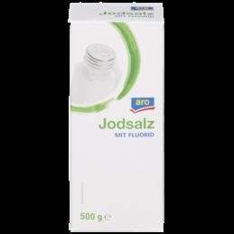 Aro Jodsalz mit Fluorid 500g