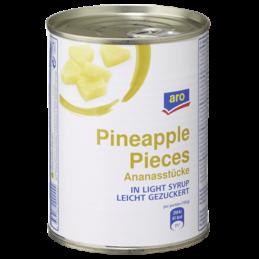 Aro Ananas Stücke 580ml